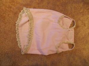 Dog Clothing - Pink Summer Dress with Lace Pearls Sequins Strathcona County Edmonton Area image 2