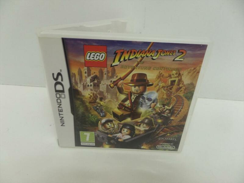 Indiana Jones 2 The Adventure Continues LEGO Nintendo DS w/ case and manual used