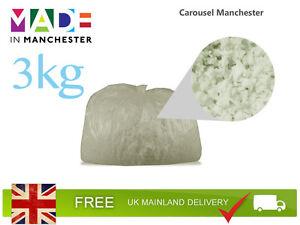 3kg Memory Foam Crumb | Bean Bag | Cushion/Pillow Filling | Stuffing
