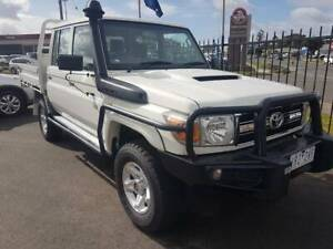 2012 Toyota Landcruiser V8 Turbo Diesel Dual Cab with Steel Tray Warragul Baw Baw Area Preview