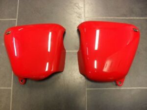 Triumph Sixty8 OEM Side Covers in Red