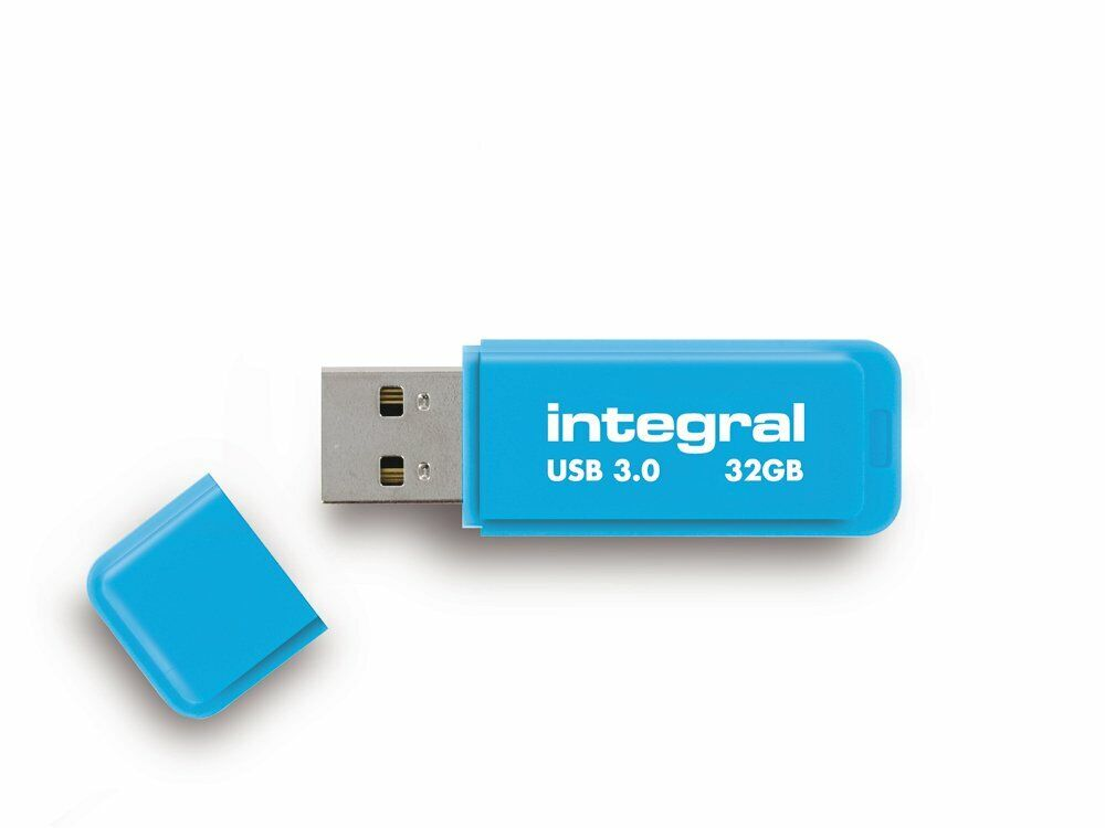 Integral NEON 32GB USB 2.0 Flash Drive / Memory Stick