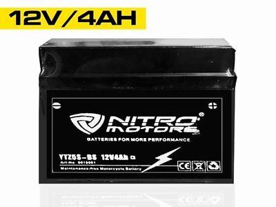 Nitro Motors Blei Gel Akku YTZ5S-BS 12V 4Ah Motorradbatterie Roller Quad Atv