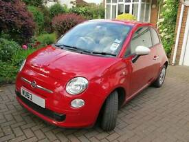Fiat 500 Colour Therapy, 2013, 63 plate £5500 o.n.o.