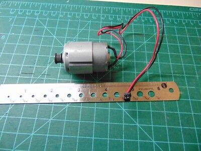 40952 12vdc Reversible Likely Mabuchi Motor Sheave Pulley