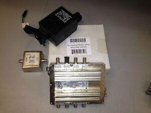 Bell satellite SW44 switch, SAM3402, SPW34B