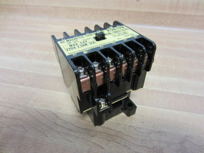 Hitachi A58L-0001-0179 A58L00010179 AC Magnetic Contactor K12N-EPW