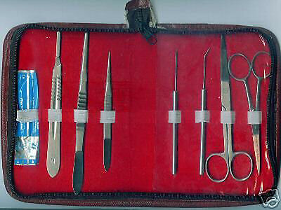 Dissecting Medical Student Kit Surgical Instruments