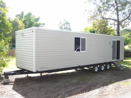 New 1 or 2 bedroom, Towable Granny Flat, Tiny House, Relocatable.