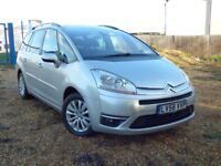 CITROEN C4 GRAND PICASSO EXCLUSIVE HDI EGS (silver) 2008