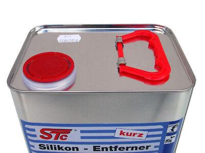 5 L Silikonentferner kurz für Autolack Lackierer Reiniger antistatisch Entfetter