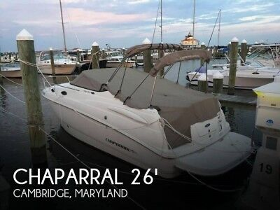 2007 Chaparral 240 Signature Used