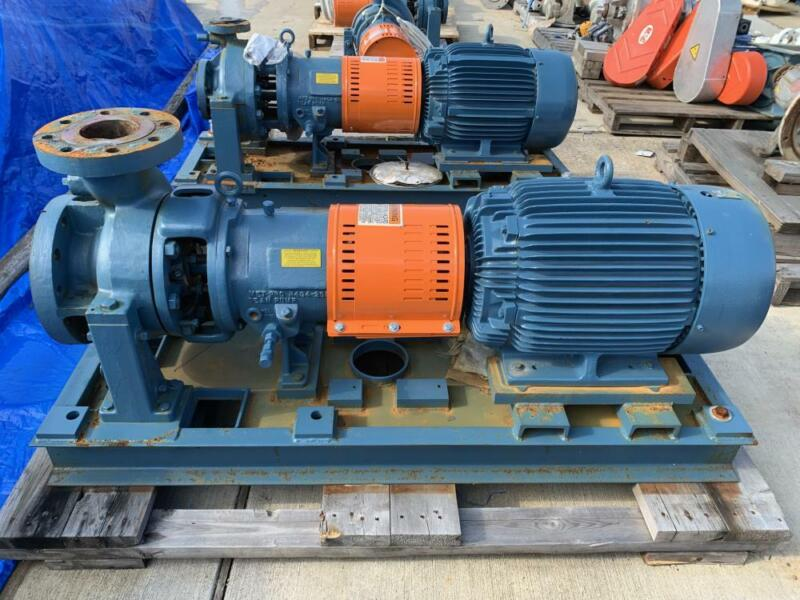 "MET-PRO Dean R4144 Centrifugal Pump , 4"" x 6"" x 8-1/2"", WCB 22 w/ 30HP Motor"