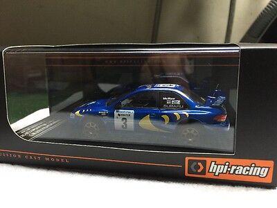 HPI #8595 1997 Swedish Rally Subaru Impreza RS WRX STI WRC '97 1/43