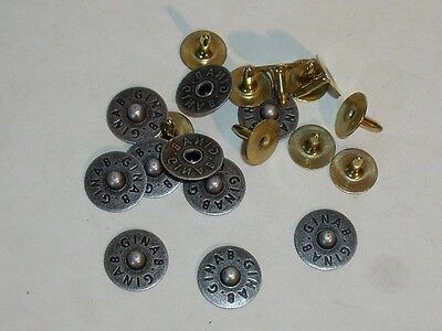 50 Jeansnieten Ziernieten Nieten Jeans 5,5 x 5mm  149