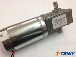 24vdc 24rpm worm gear motor variable speed gearmotor dual for 1 8 hp electric motor variable speed