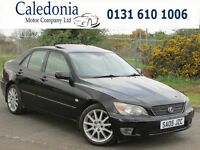 LEXUS IS 200 SE 2.0 4DR SAT-NAV (black) 2005