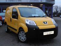 2011 Peugeot Bipper Professional 1.4 HDI Van In Yellow SIDE LOADING DOOR