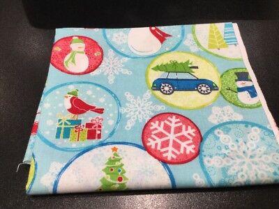 Christmas, Bernartex, 100% Cotton, Fat Quarter, Quilting, Patchwork Fabric