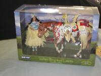 BREYER INDIAN PONY & LEOTIE