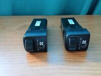 SAAB 9-5 95 FRONT SEAT VENT VENTILATOR FAN CONTROL SWITCH 4616504 PAIR X2