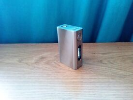 Authentic Tesla Nano 100W TC VW Sub Ohm E Shisha Vape Mod Stainless Steel Silver