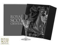 Royal Scot Crystal Glasses - 2, Brand new in box