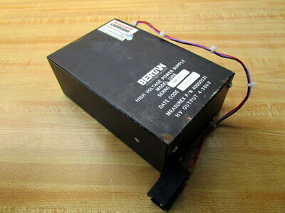 Bertan 40000131 High Voltage Power Supply 1988