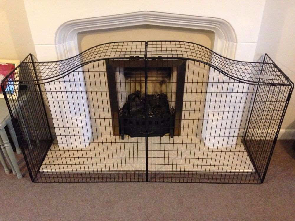 Mothercare Curved Top Safety Fireguard In Bordesley