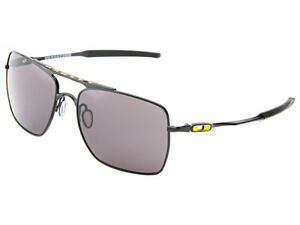d7b393528e Oakley Deviation Valentino Rossi VR46 Sunglasses OO4061-10 Black Warm Grey