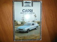 1970-1974 Ford Capri Mk I  2000 2600 2800 Shop Manual