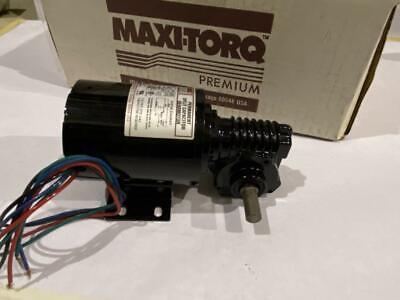 Dayton Dc Gearmotor 120hp  8t549 115vac 60hz. 27rpm 56 In-lbs Torque