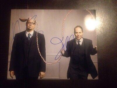 Penn & Teller Signed 8x10 Photo