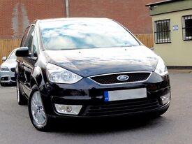 ford galaxy 2.0 tdci diesel, 2009, black, ghia, top spec