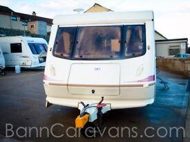 (Ref: 845) Elddis Wisp 4 Berth Perfect Starter Caravan