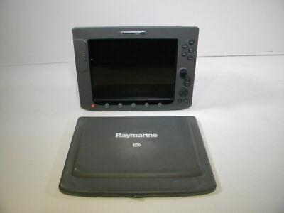 Raymarine E120 Classic Display + Suncover E02013 - 90 Day Warranty Good Cond