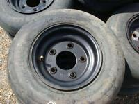 48 Bourgault Tube Top Packer Wheel Tires