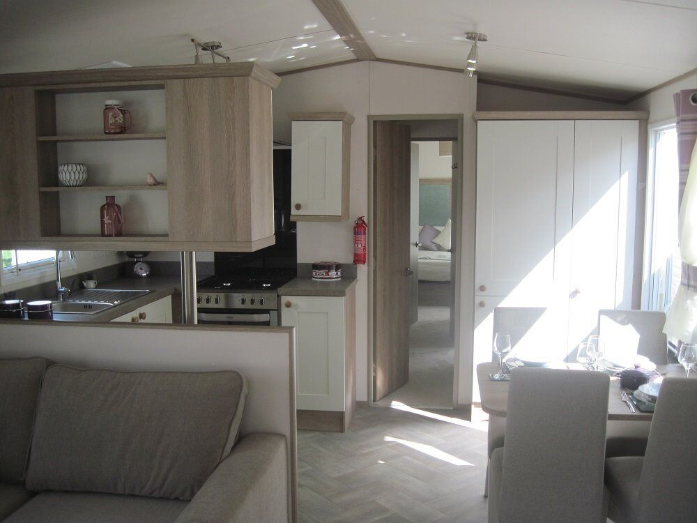 For sale new static caravan holiday home sited with direct beach access! Devon. FREE BROCHURE!