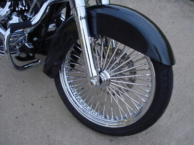 FRONT FENDER W/NO TRIM HOLES HARLEY HERITAGE SOFTAIL 1986 & UP REP # 59129-86