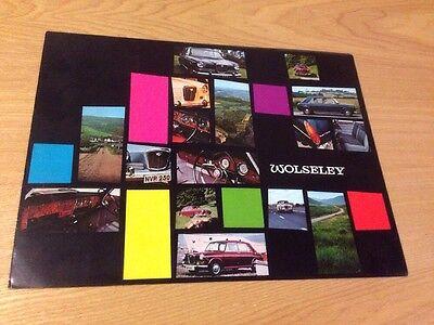 Wolseley 1300 1800 2200 16/60 Genuine Advertising Brochure 1960s