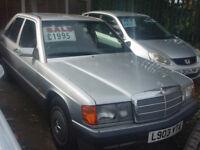 MERCEDES BENZ 190 - (silver) 1993
