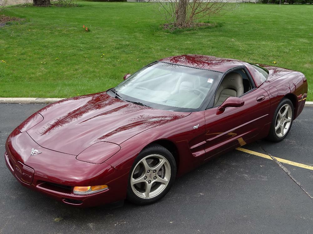 2003 Red Chevrolet Corvette     C5 Corvette Photo 5