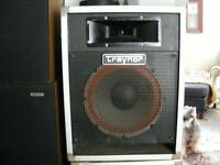 Traynor p/a studio monitors