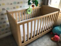 Mamas & Papas Nursery Cot bed and furniture Set