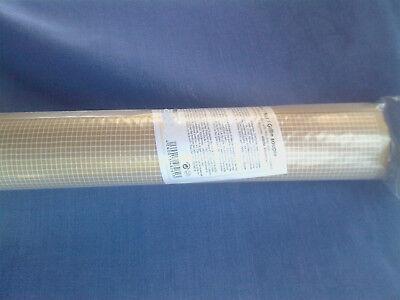 Netz mit Folie und Skizzenpapier 50x50cm Mosaik Basteln