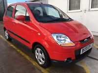 CHEVROLET MATIZ SE (red) 2009