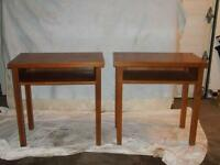 2 Wood Tables