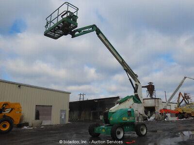 2010 Jlg 600aj 60 4wd Diesel Articulating Boom Lift Man Aerial Platform Bidadoo