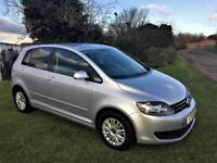 VOLKSWAGEN GOLF PLUS 1.6 TDi, Stunning low mileage example (silver) 2010