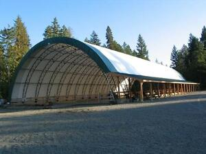 G and B Portable Fabric Buildings - Sizzling Summer Pricing